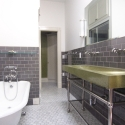 Bath with Concrete Trough