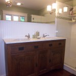 Bath with Antique Vanity