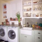 Laundry and Potting Area